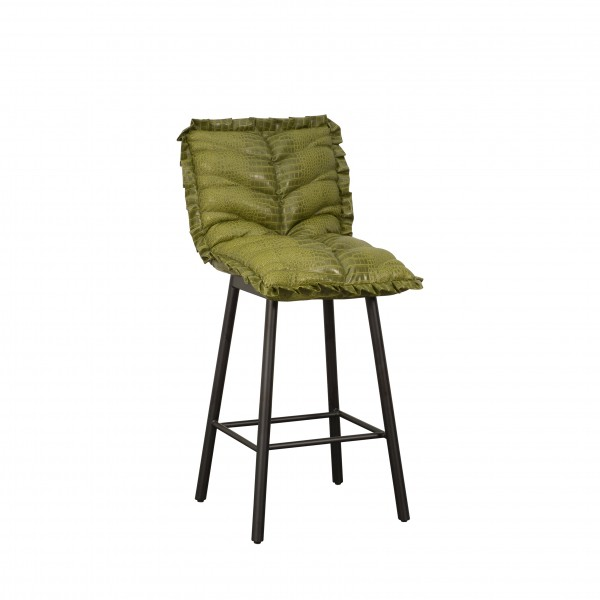 WILD LEATHER BARSTOOL