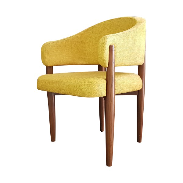YELLOW DINING ARMCHAIR