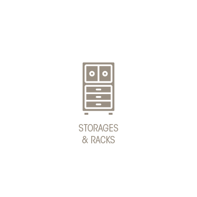 STORAGE & RACKS
