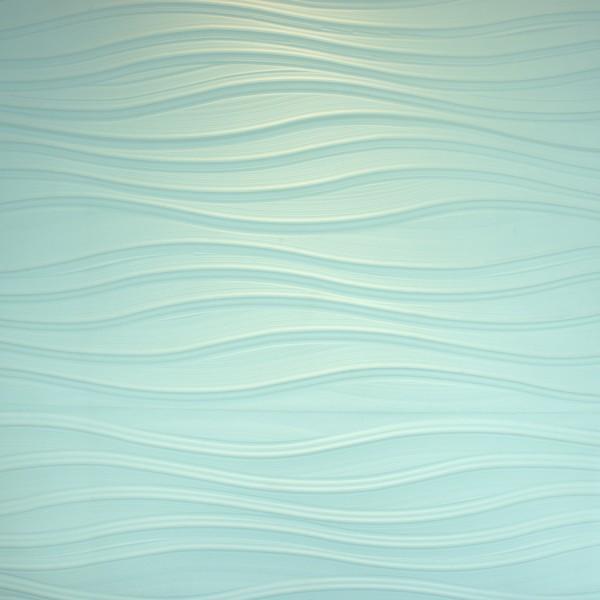 3D WALLPANEL MDF PLAIN WAVES