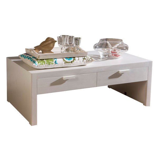 COFFEE TABLE 4 DRAWERS 120x70