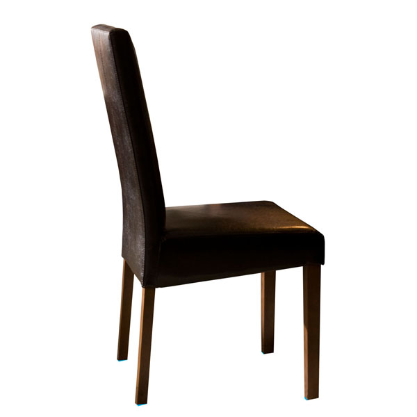 RECTA BROWN ECOLEATHER CHAIR