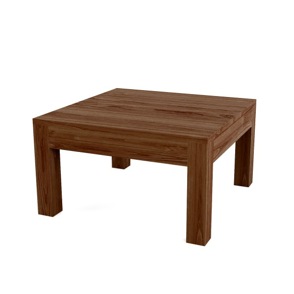 COFFEE TABLE SOLID SQUARE 80
