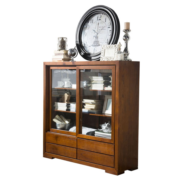 WIDE CUPBOARD WITH DRAWERS