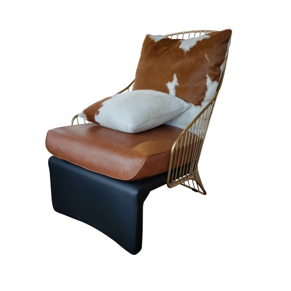 ARMCHAIR NATURAL LEATHER