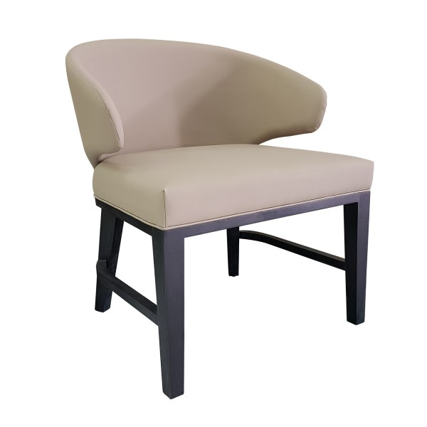 BARREL BACK WING DINING CHAIR