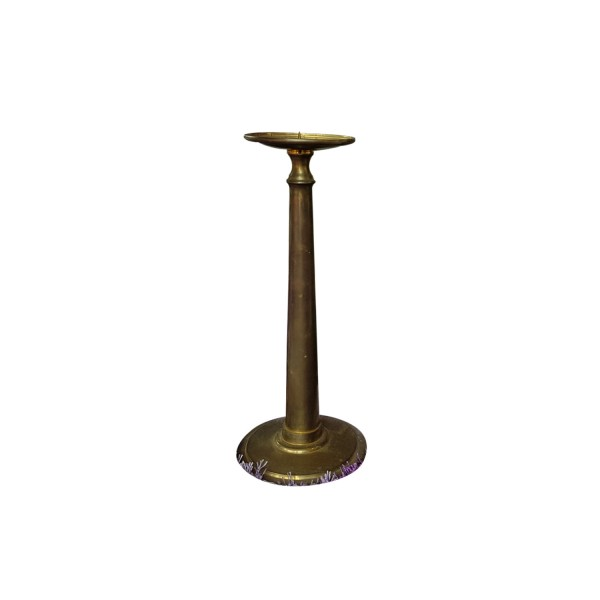 CANDLE HOLDER BRONZE LOW