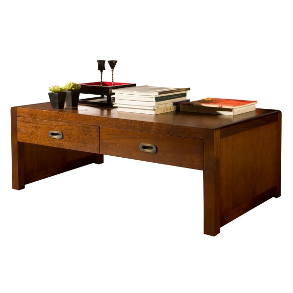 COFFEE TABLE 4 DRAWERS 110x60
