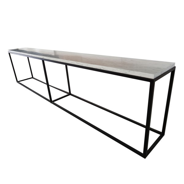 CONSOLE TABLE AT STAIRS