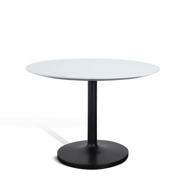 CURVED BASE ROUND DINING TABLE D107