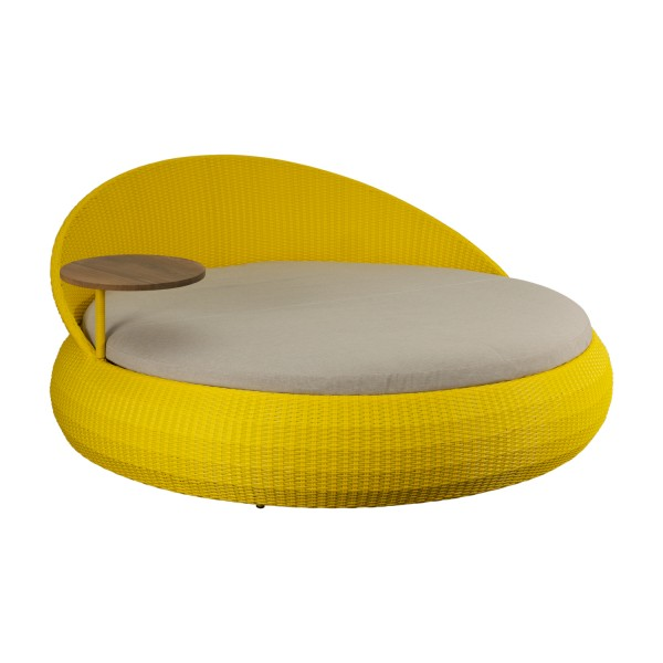 OUTDOOR DAYBED YELLOW