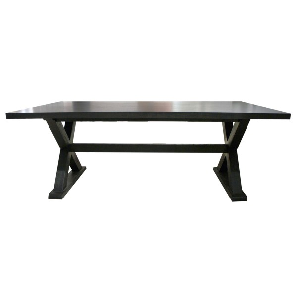 DINING TABLE ZANZIBAR BLACK