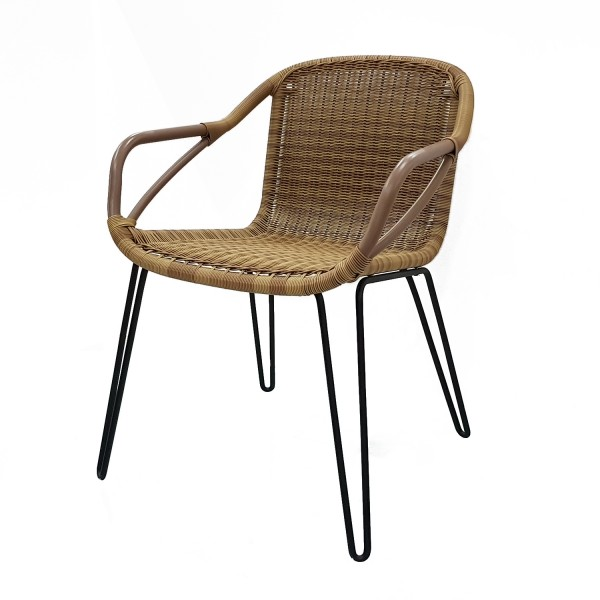 OUTDOOR FRENCHMAN DINING ARMCHAIR