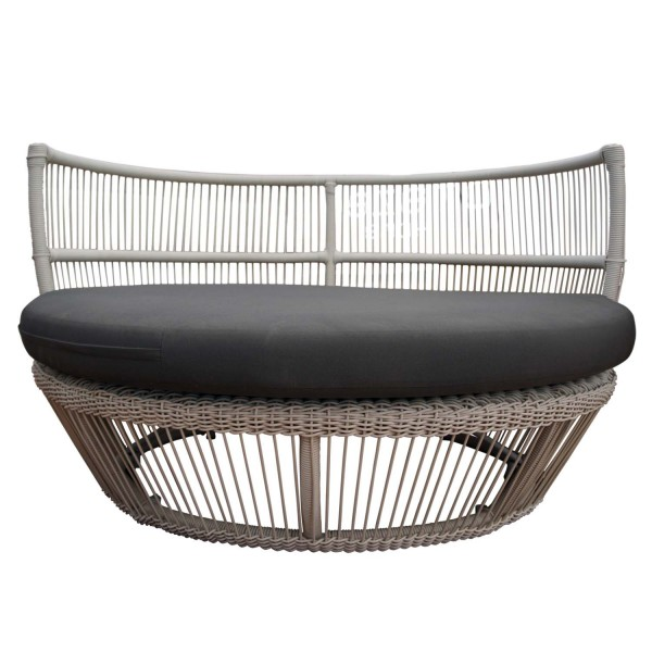 OUTDOOR ROUND WIDE SOFA