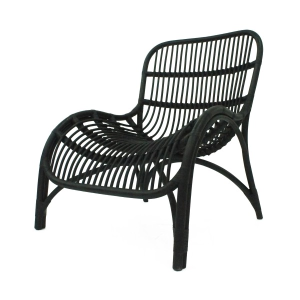 OUTDOOR LOUNGE CHAIR CURVED