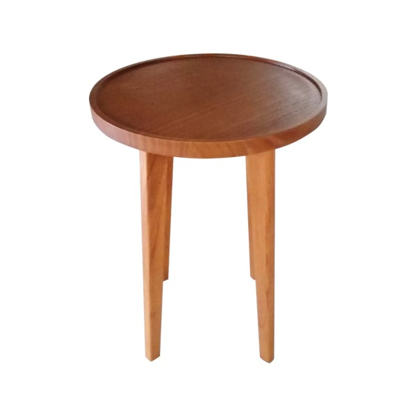 ROUND COFFEE TABLE SPA TALL