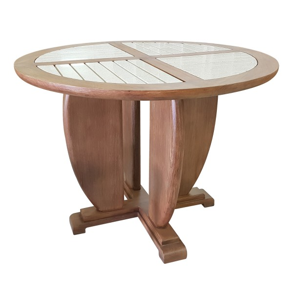 OUTDOOR ROUND DINING TABLE TYPE A/C