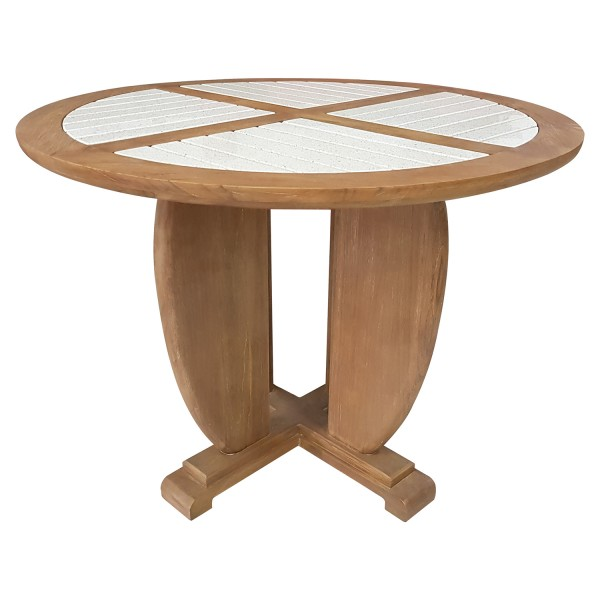 OUTDOOR ROUND DINING TABLE TYPE B