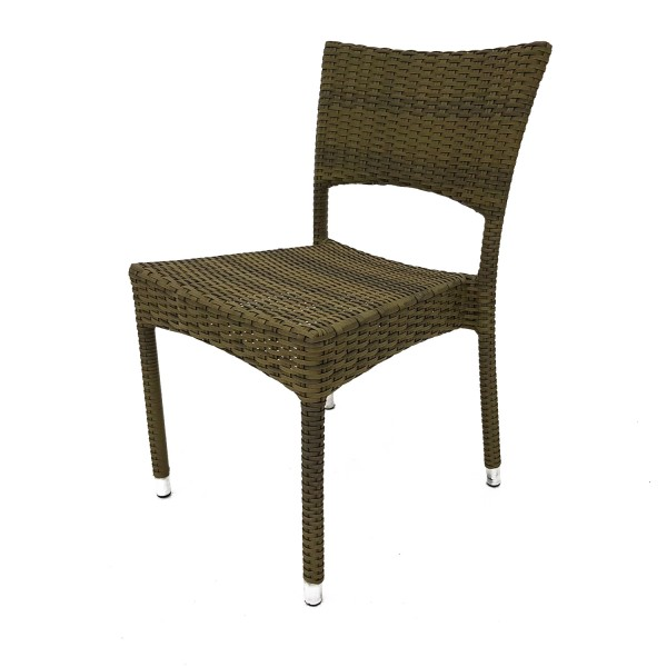 OUTDOOR WOVEN DINING CHAIR