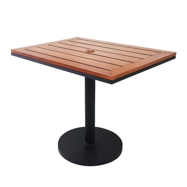 RECTANGLE TABLE WITH POWDERCOATED BASE