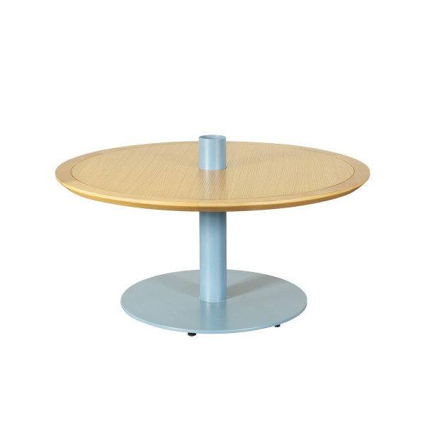 ROUND TABLE BLUE