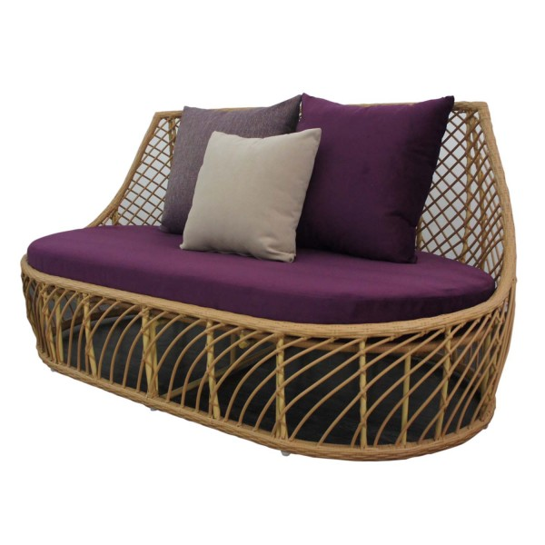 OUTDOOR SOFA BUTTERCUP 2SEATERS