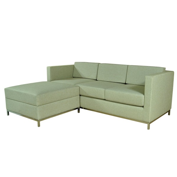 SET SOFA 3ST WITH POUFF