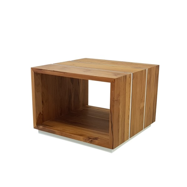 SQUARE SIDE TABLE NATURAL