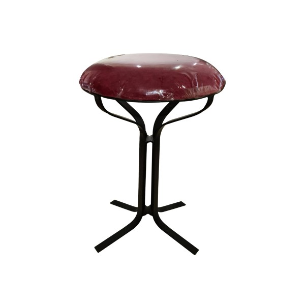 STOOL IRON RED