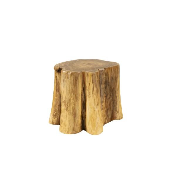 TEAK CUSTOM SIDE TABLE